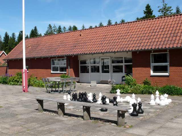 Gårdhuset - botræning - Tolne Efterskole