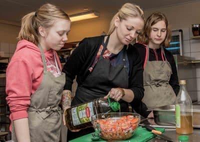 Tolne Efterskole Værksted Køkken