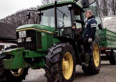 Tolne Efterskole Værksted Landbrug