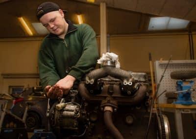 Tolne Efterskole motor metal 2